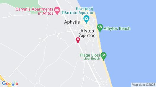 Achtis Boutique Hotel Map