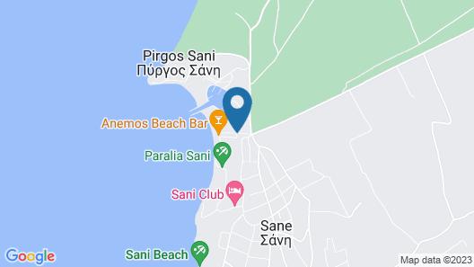 Sani Club Map