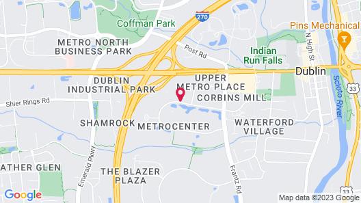 Hilton Garden Inn Columbus/Dublin Map