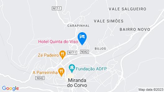 Quinta do Viso Map
