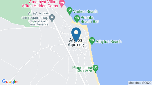 Sinodinos Deluxe Apartments Map