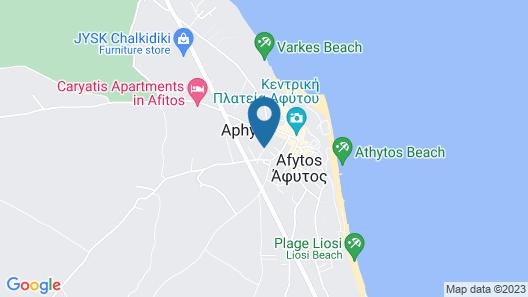 Stratos Hotel Map