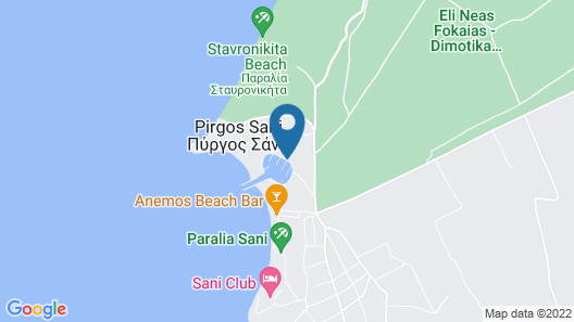 Porto Sani Map