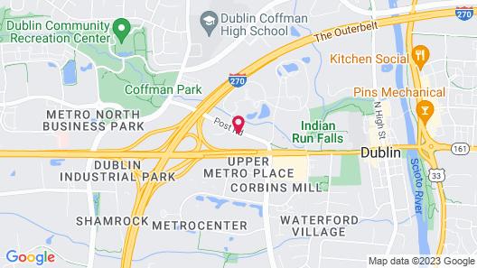 Red Roof Inn PLUS+ Columbus - Dublin Map