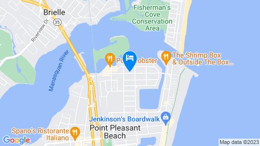 Atlantic Motel Map