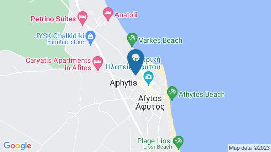 Maria Nefeli Sea View  Map