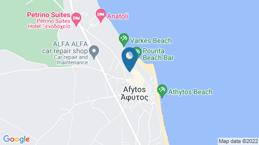 Apollo Apartments & Studios Map