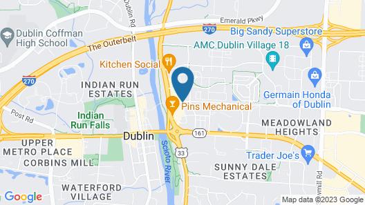 SpringHill Suites by Marriott Columbus Dublin Map
