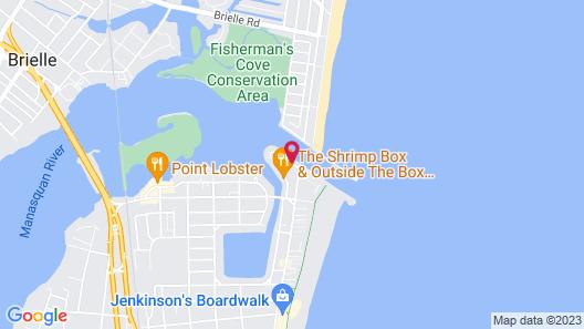 Casa del Mar Map