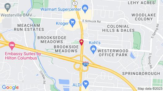 Red Roof Inn Columbus Northeast - Westerville Map