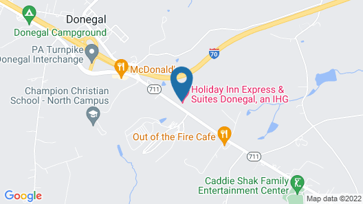 Holiday Inn Express Hotel & Suites Donegal, an IHG Hotel Map