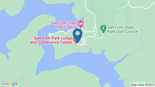 Salt Fork Lodge and Conference Center Map