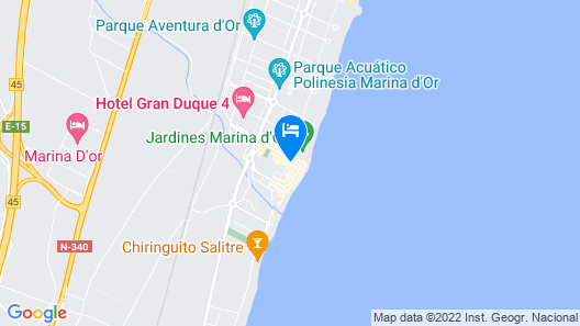 Marina d'Or 3 Hotel Map