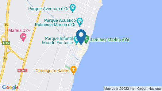 Marina d'Or 5 Hotel Map