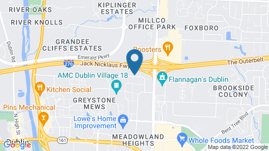 Quality Inn And Suites Dublin Map