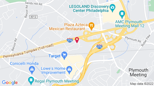 Homewood Suites By Hilton Philadelphia Plymouth Meeting Map