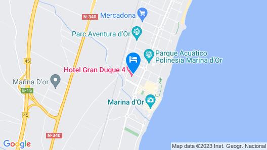 Marina d'Or® Hotel Gran Duque Map