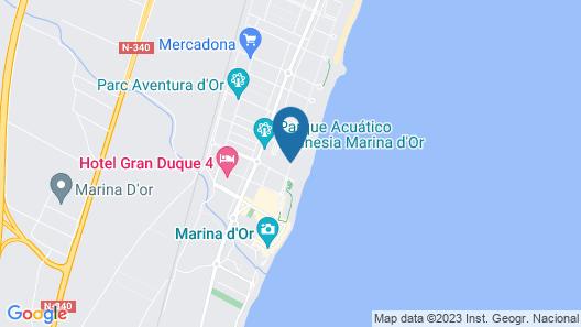 ACV - Acapulco II-1 Linea Planta 1 Norte Map