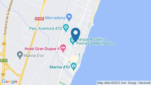 Apartamentos Turísticos Marina d'Or 2 Línea Map