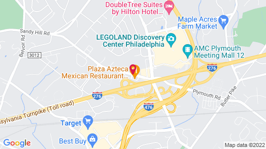 SpringHill Suites by Marriott Philadelphia Plymouth Meeting Map