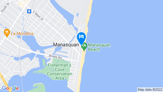 Beautiful Beachfront Living Map