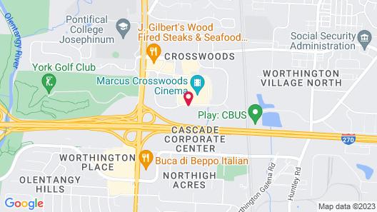 DoubleTree by Hilton Columbus - Worthington Map