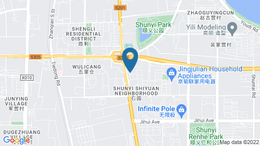 Beijing Jinziyin Business Hotel Map