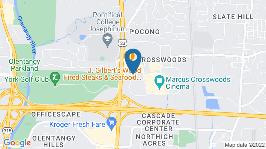 Hyatt Place Columbus/Worthington Map