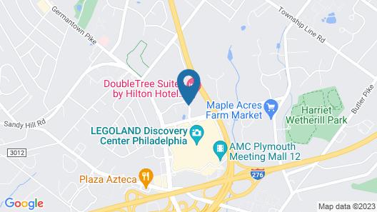 DoubleTree Suites by Hilton Hotel Philadelphia West Map