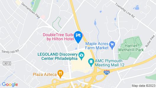 DoubleTree Suites by Hilton Philadelphia West Map