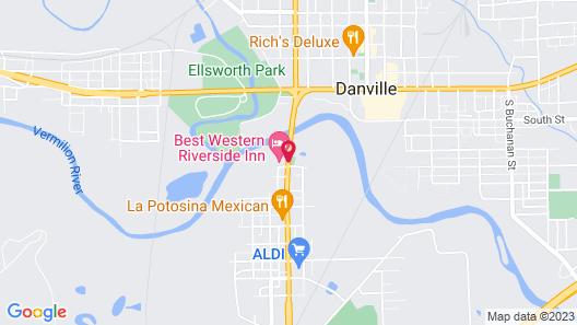 Best Western Riverside Inn Map