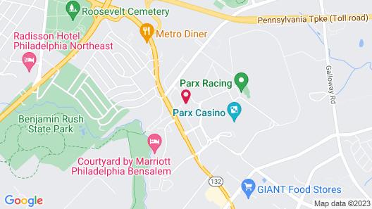 Holiday Inn Bensalem - Philadelphia Area, an IHG Hotel Map