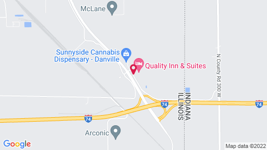 Red Roof Inn & Suites Danville, IL Map