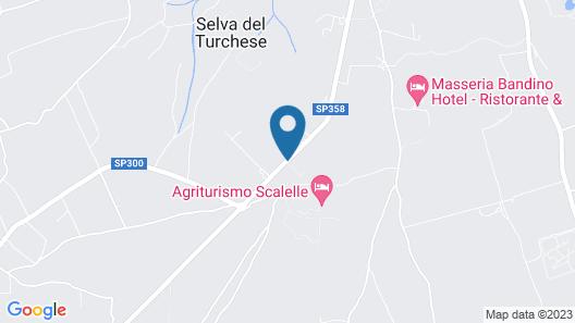 Masseria Montelauro Map