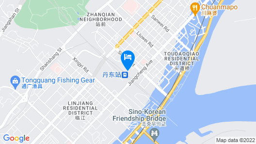 Dandong Life's Business Hotel Map
