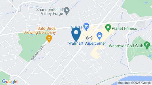 Tru by Hilton Audubon Valley Forge Map