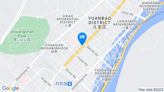 Hilton Garden Inn Dandong Map