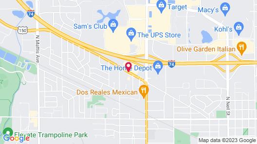 Days Inn by Wyndham Champaign/Urbana Map