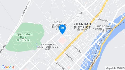 Sunny Resort Hotel - Dandong Map