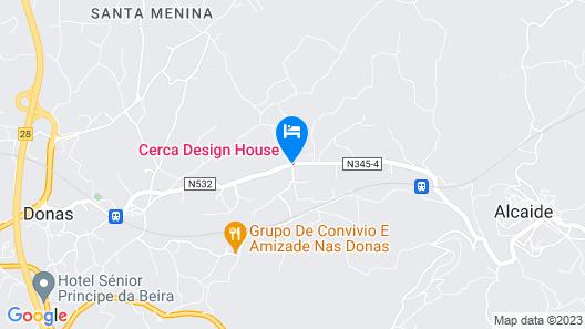 Cerca Design House Map