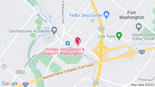 Holiday Inn Express & Suites Ft. Washington - Philadelphia, an IHG Hotel Map