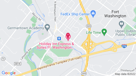Holiday Inn Express & Suites Ft. Washington - Philadelphia Map