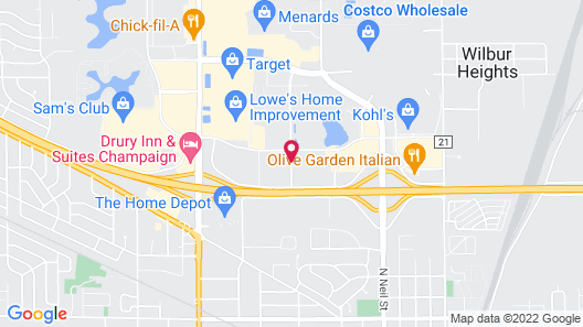 Courtyard Champaign Map