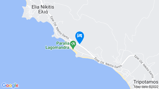 Lagomandra Hotel & Spa Map