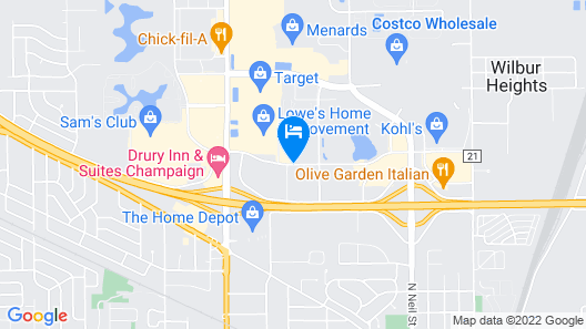 Country Inn & Suites by Radisson, Champaign North, IL Map