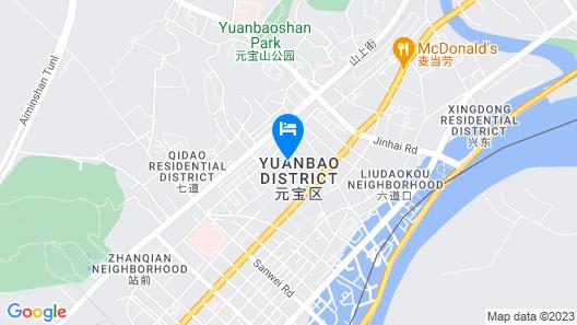 Dandong Garden Hotel - Dandong Map