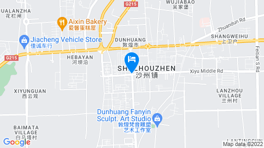 DunHuang Hotel Map