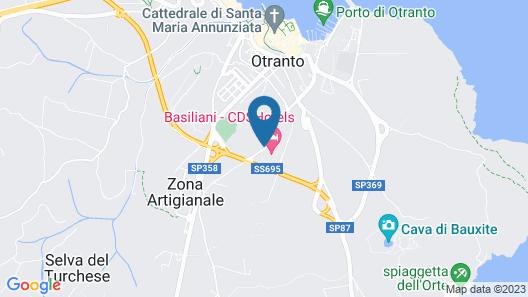 CDSHotels Basiliani Map