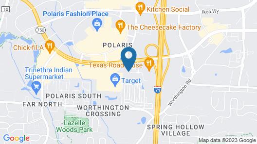 Hilton Garden Inn Columbus/Polaris Map