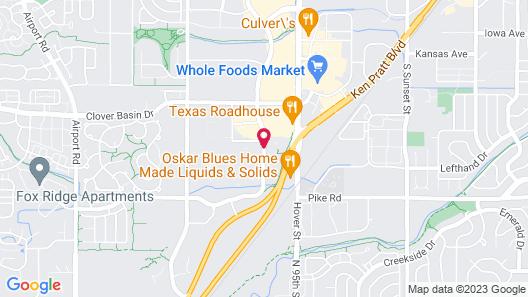 Residence Inn by Marriott Boulder Longmont Map